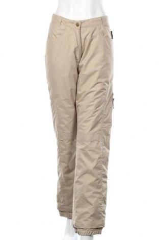 Дамски панталон за зимни спортове Crane, Размер M, Цвят Бежов, Полиестер, Цена 15,23лв.