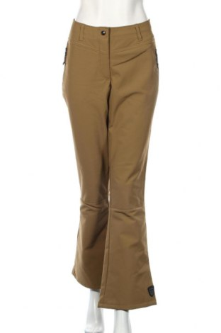 Дамски панталон за зимни спортове Killtec, Размер L, Цвят Зелен, 94% полиестер, 6% еластан, Цена 10,76лв.