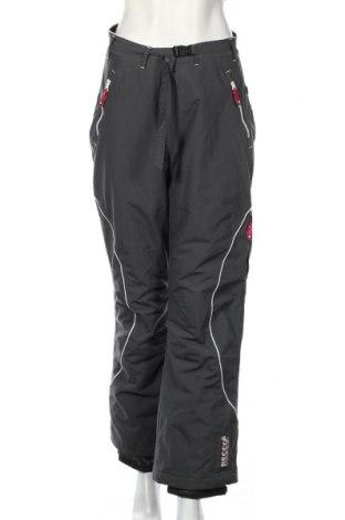 Дамски панталон за зимни спортове TCM, Размер S, Цвят Сив, Полиамид, Цена 8,66лв.