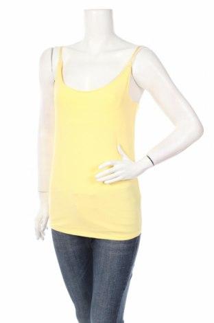 Дамски потник Yessica, Размер S, Цвят Жълт, 96% памук, 4% еластан, Цена 6,93лв.
