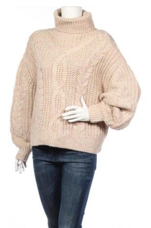 Γυναικείο πουλόβερ H&M, Μέγεθος S, Χρώμα  Μπέζ, 85%ακρυλικό, 15% μαλλί, Τιμή 14,29€
