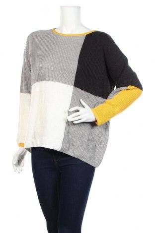 Damski sweter Le Comte, Rozmiar L, Kolor Kolorowy, 50% bawełna, 50% poliakryl, Cena 84,00zł