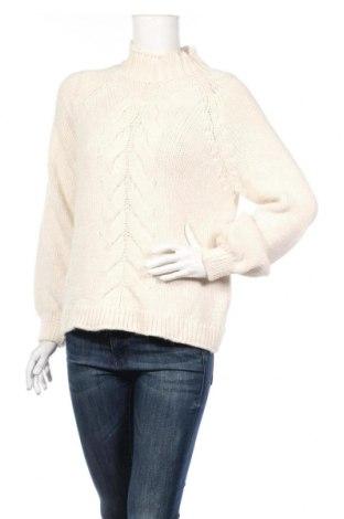 Damski sweter Only, Rozmiar S, Kolor Biały, 85%akryl, 8% poliamid, 7% elastyna, Cena 84,00zł