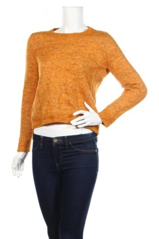 Γυναικείο πουλόβερ Vero Moda, Μέγεθος S, Χρώμα Κίτρινο, 41% πολυαμίδη, 40% μαλλί, 15% μοχαίρ, 4% ελαστάνη, Τιμή 14,29€