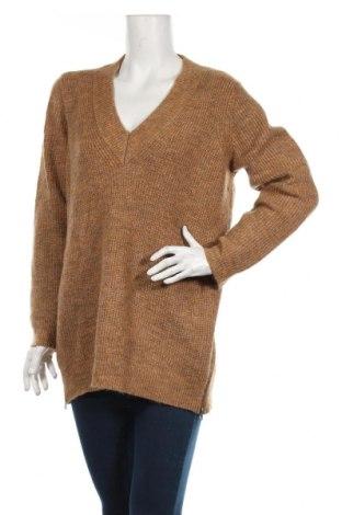 Γυναικείο πουλόβερ Vero Moda, Μέγεθος L, Χρώμα Καφέ, 66%ακρυλικό, 25% πολυεστέρας, 6% μοχαίρ, Τιμή 16,24€