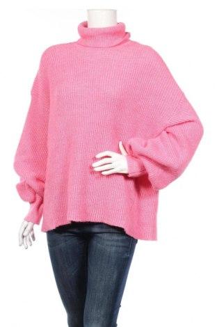 Γυναικείο πουλόβερ Vero Moda, Μέγεθος XL, Χρώμα Ρόζ , Τιμή 16,89€