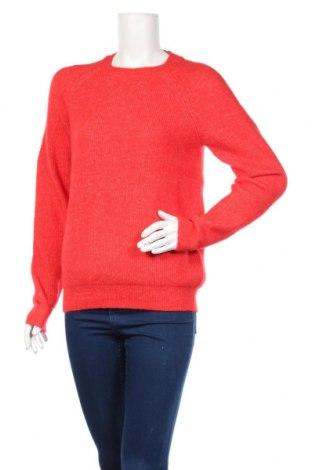 Γυναικείο πουλόβερ Vero Moda, Μέγεθος S, Χρώμα Κόκκινο, 58%ακρυλικό, 30% πολυεστέρας, 6% ελαστάνη, 4% μαλλί, 2% μαλλί από αλπακά, Τιμή 30,41€