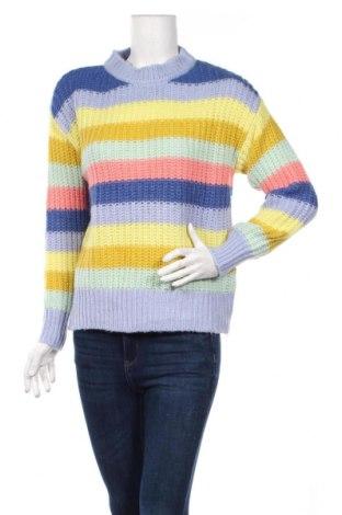 Damski sweter Yessica, Rozmiar S, Kolor Kolorowy, 60%akryl, 31% poliamid, 9% wełna, Cena 75,00zł