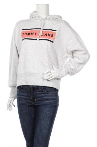 Γυναικείο φούτερ Tommy Hilfiger, Μέγεθος XS, Χρώμα Γκρί, 97% βαμβάκι, 3% ελαστάνη, Τιμή 37,67€