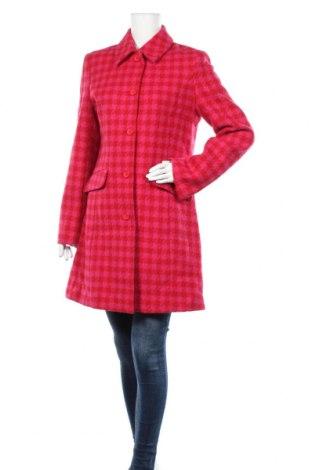 Дамско палто Bla Bla, Размер M, Цвят Розов, Вълна, Цена 56,70лв.