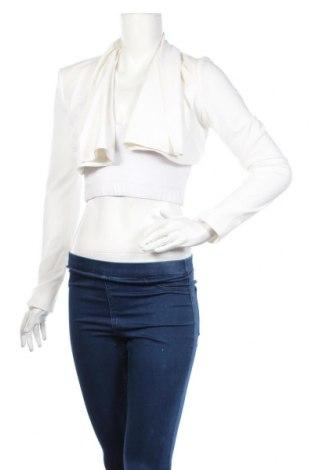 Μπολερό Elisabetta Franchi, Μέγεθος M, Χρώμα Λευκό, 89% πολυεστέρας, 11% πολυαμίδη, Τιμή 61,47€