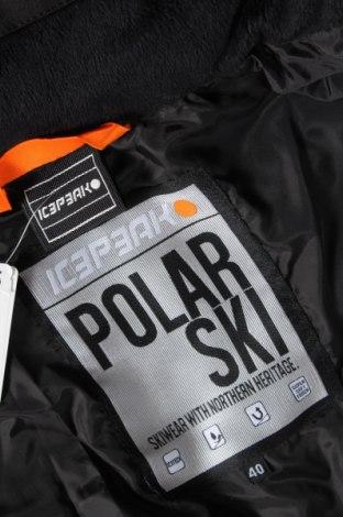 Дамско яке за зимни спортове Icepeak, Размер M, Цвят Сив, Полиестер, Цена 136,50лв.