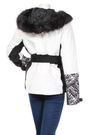 Дамско яке за зимни спортове Nevica, Размер XL, Цвят Бял, 92% полиестер, 8% еластан, Цена 140,80лв.