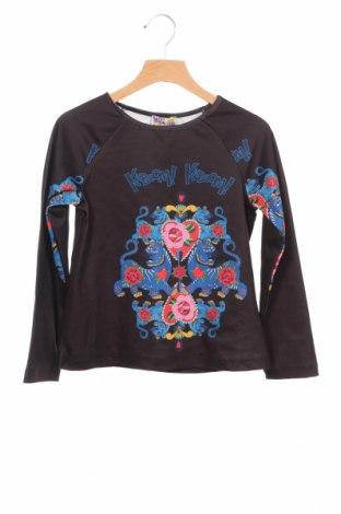 Детска блуза, Размер 7-8y/ 128-134 см, Цвят Черен, 96% вискоза, 4% еластан, Цена 20,25лв.