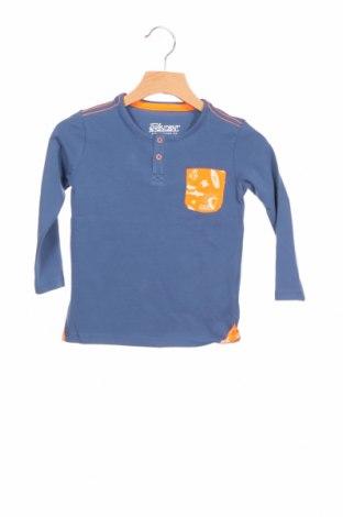 Детска блуза, Размер 18-24m/ 86-98 см, Цвят Син, 95% памук, 5% еластан, Цена 10,40лв.