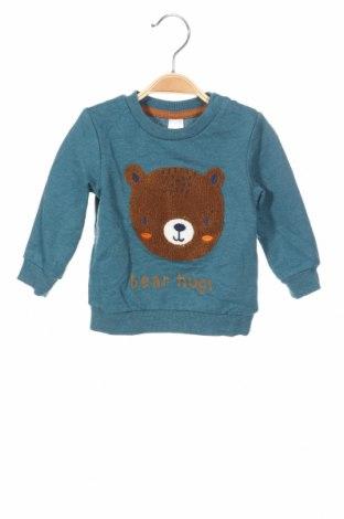 Детска блуза Baby Club, Размер 9-12m/ 74-80 см, Цвят Син, 60% памук, 40% полиестер, Цена 19,50лв.