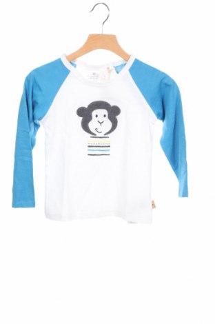 Детска блуза Belly Button, Размер 18-24m/ 86-98 см, Цвят Бял, Памук, Цена 28,56лв.