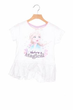 Детска блуза Disney, Размер 5-6y/ 116-122 см, Цвят Бял, 100% памук, Цена 21,00лв.