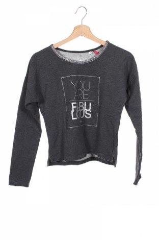 Детска блуза Gg&l, Размер 13-14y/ 164-168 см, Цвят Сив, 95% памук, 5% еластан, Цена 4,41лв.