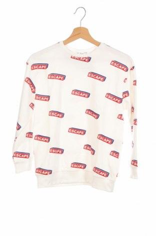 Детска блуза Lefties, Размер 9-10y/ 140-146 см, Цвят Бял, 100% памук, Цена 16,80лв.