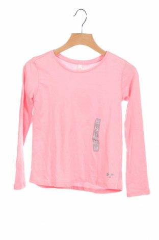 Детска блуза Lefties, Размер 5-6y/ 116-122 см, Цвят Розов, Памук, Цена 6,44лв.