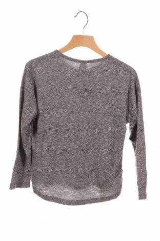 Детска блуза Lefties, Размер 5-6y/ 116-122 см, Цвят Сив, 50% полиестер, 38% памук, 12% вискоза, Цена 13,44лв.