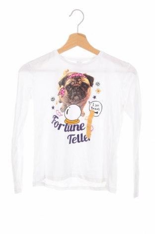 Детска блуза Lefties, Размер 8-9y/ 134-140 см, Цвят Бял, Памук, Цена 17,25лв.