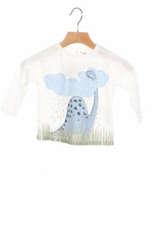 Детска блуза Lefties, Размер 2-3m/ 56-62 см, Цвят Бял, 100% памук, Цена 9,80лв.