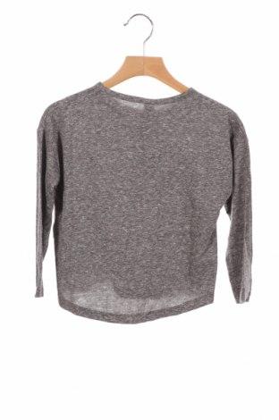 Детска блуза Lefties, Размер 3-4y/ 104-110 см, Цвят Сив, 50% полиестер, 38% памук, 12% вискоза, Цена 21,00лв.