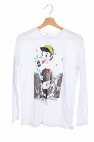 Детска блуза Lefties, Размер 10-11y/ 146-152 см, Цвят Бял, Памук, Цена 13,34лв.