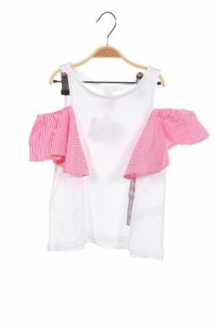 Детска блуза Lefties, Размер 5-6y/ 116-122 см, Цвят Бял, Памук, Цена 17,25лв.