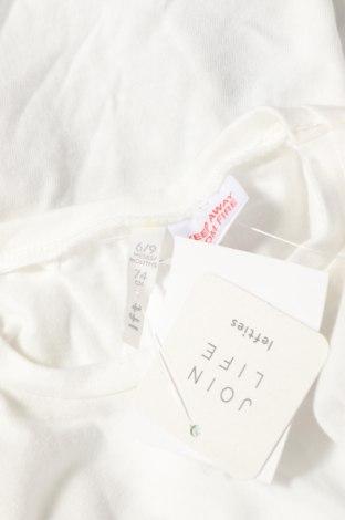 Детска блуза Lefties, Размер 6-9m/ 68-74 см, Цвят Бял, 100% памук, Цена 9,80лв.