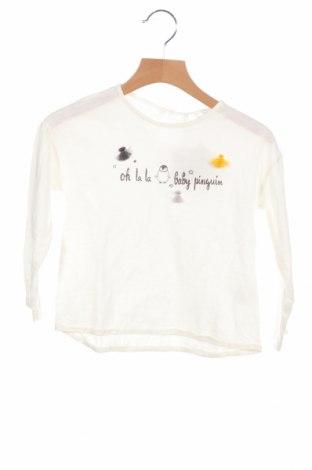 Детска блуза Lefties, Размер 12-18m/ 80-86 см, Цвят Бял, Памук, Цена 17,25лв.