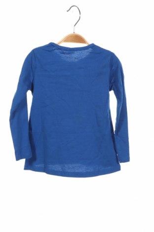 Детска блуза Lefties, Размер 9-12m/ 74-80 см, Цвят Син, 100% памук, Цена 11,20лв.