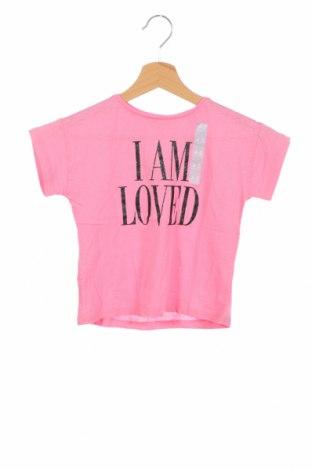 Детска блуза Lefties, Размер 3-4y/ 104-110 см, Цвят Розов, Памук, Цена 17,25лв.