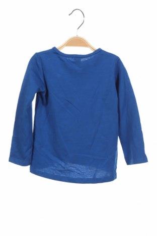 Детска блуза Lefties, Размер 9-12m/ 74-80 см, Цвят Син, 100% памук, Цена 19,50лв.