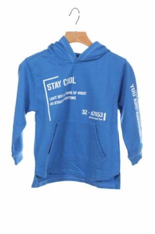 Детска блуза Lft, Размер 2-3y/ 98-104 см, Цвят Син, 55% памук, 45% полиестер, Цена 12,80лв.