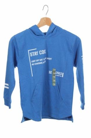 Детска блуза Lft, Размер 7-8y/ 128-134 см, Цвят Син, 55% памук, 45% полиестер, Цена 20,40лв.