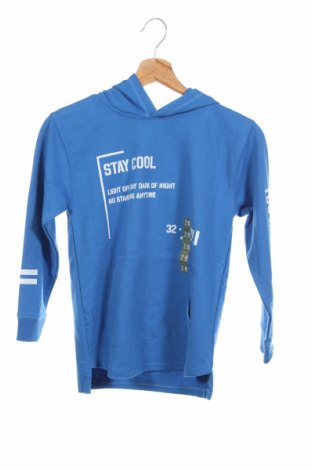 Детска блуза Lft, Размер 7-8y/ 128-134 см, Цвят Син, 55% памук, 45% полиестер, Цена 21,76лв.