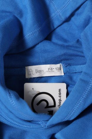 Детска блуза Lft, Размер 7-8y/ 128-134 см, Цвят Син, 55% памук, 45% полиестер, Цена 12,80лв.