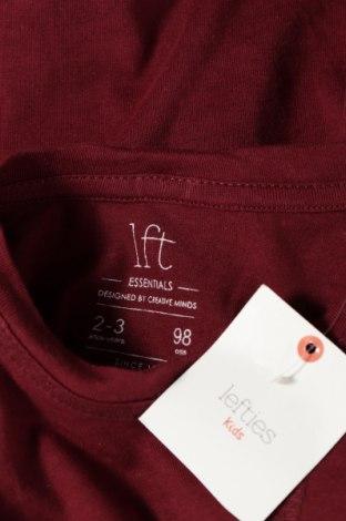 Детска блуза Lft, Размер 2-3y/ 98-104 см, Цвят Червен, 100% памук, Цена 20,40лв.