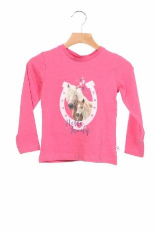 Детска блуза Salt and pepper, Размер 18-24m/ 86-98 см, Цвят Розов, 95% памук, 5% еластан, Цена 17,28лв.