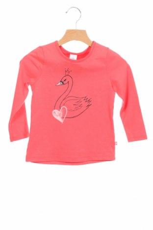 Детска блуза Sanetta, Размер 2-3y/ 98-104 см, Цвят Розов, Памук, Цена 24,00лв.