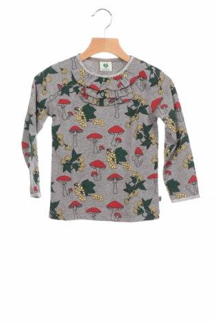 Детска блуза Smafolk, Размер 18-24m/ 86-98 см, Цвят Сив, 95% памук, 5% еластан, Цена 19,80лв.