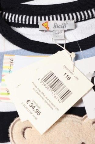 Детска блуза Steiff, Размер 4-5y/ 110-116 см, Цвят Многоцветен, Памук, Цена 23,10лв.