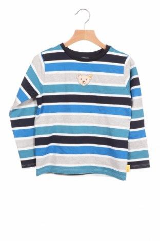 Детска блуза Steiff, Размер 5-6y/ 116-122 см, Цвят Многоцветен, Памук, Цена 25,97лв.