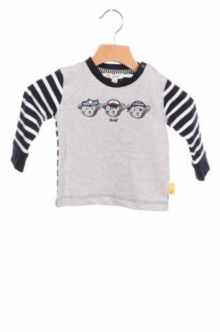 Детска блуза Steiff, Размер 6-9m/ 68-74 см, Цвят Син, Памук, Цена 29,25лв.