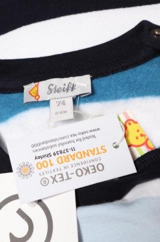 Детска блуза Steiff, Размер 6-9m/ 68-74 см, Цвят Многоцветен, Памук, Цена 14,40лв.