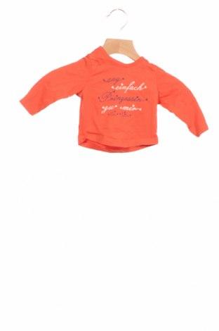 Детска блуза Tom Tailor, Размер 1-2m/ 50-56 см, Цвят Оранжев, Памук, Цена 17,49лв.