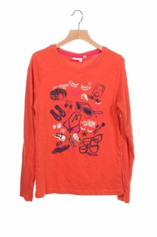 Детска блуза Tom Tailor, Размер 12-13y/ 158-164 см, Цвят Оранжев, Памук, Цена 18,15лв.